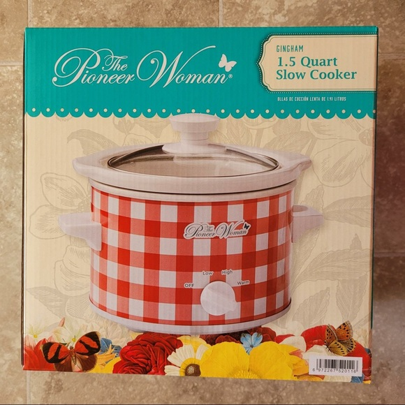 New Pioneer Woman 1.5 Qt Slow Cooker